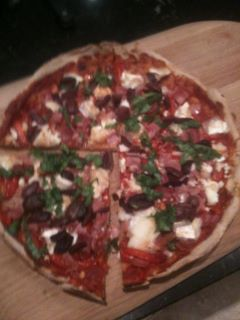 This is the most delicious pizza! takes 20 minutes