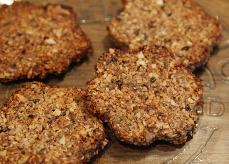 fruit and nut cookies - nancy