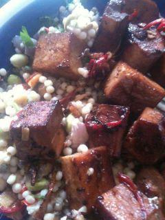 marinaded tofu - ewan