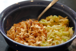 spelt and grated apple